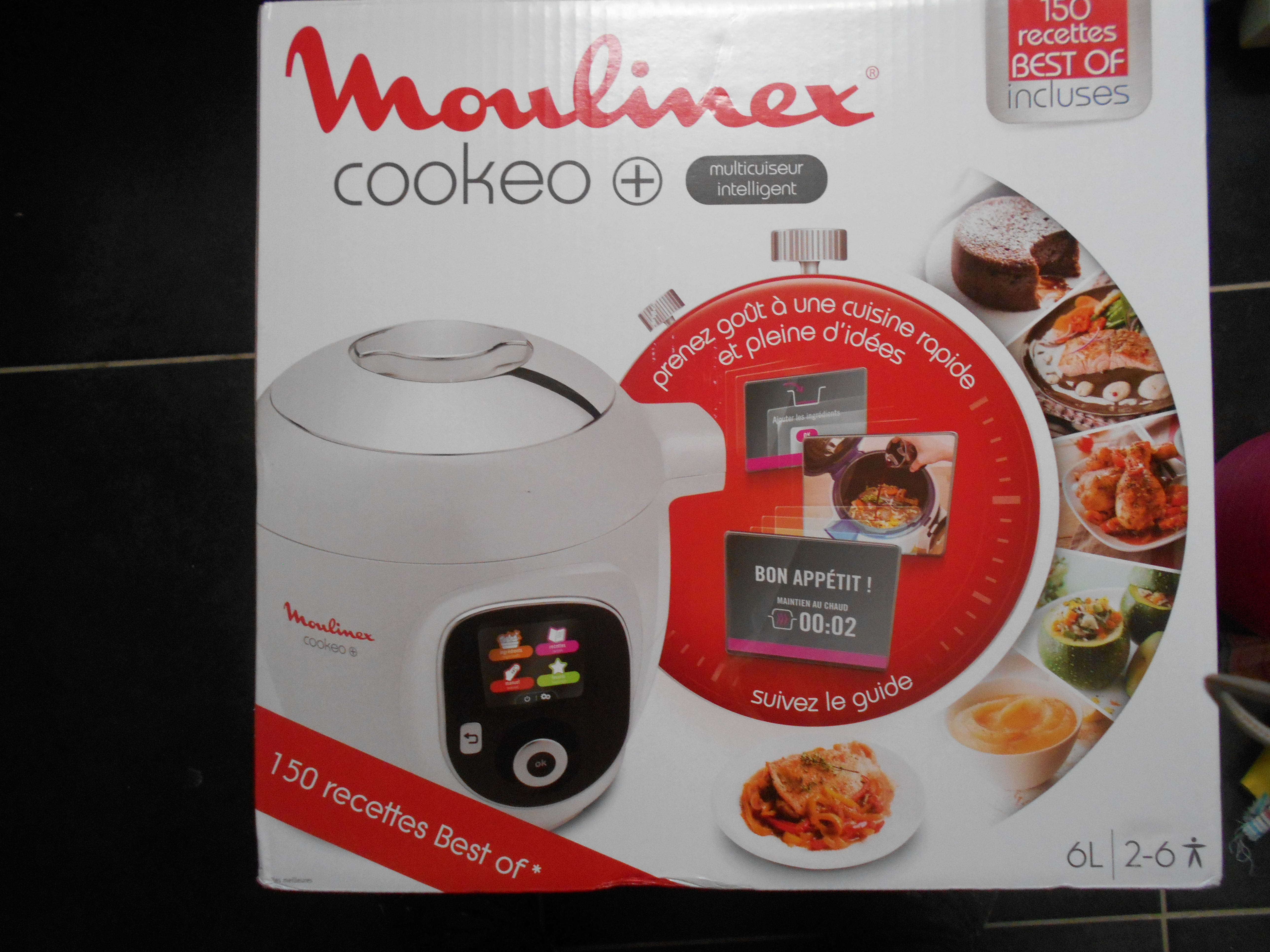 COOKEO MOULINEX BLANC